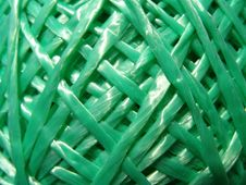 Free Green String Texture Royalty Free Stock Photos - 14851808