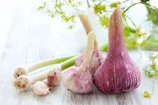 Free Fresh Garlic Stock Image - 14852421