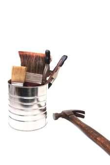 Free Paint Can Stock Image - 14852451