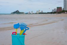 Hua Hin Beach,Thailand Royalty Free Stock Image