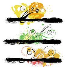Free Grunge Design Elements Stock Photo - 14852760