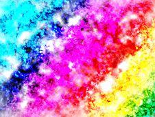 Free Vector Cloudy Rainbow Stock Photo - 14853310