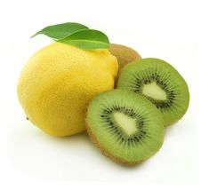 Free Kiwi And Lemon Royalty Free Stock Image - 14853336