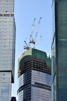 Free Tower Cranes. Stock Photography - 14853612