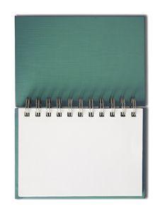 Free Notebook Horizontal Single Blank Page Royalty Free Stock Photo - 14854045
