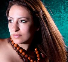 Free Young Beautiful Elegant  Brunette Royalty Free Stock Photos - 14854348