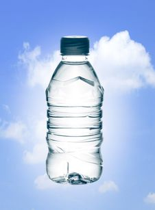 Purified Spring Mineral Water Royalty Free Stock Photography