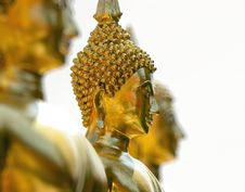 Buddhist Statue Royalty Free Stock Photo