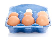 Free Box Of Eggs Stock Photos - 14855733