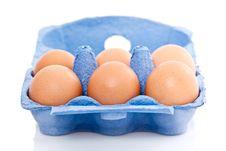 Box Of Eggs Stock Photos