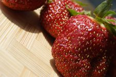 Free Strawberries Royalty Free Stock Photo - 14855765