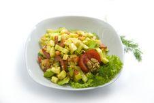 Free Tasty Salad Royalty Free Stock Photos - 14855938