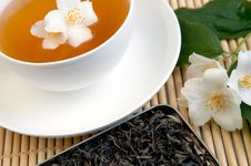 Free Cup Of Green Tea Stock Photo - 14856310