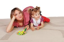 Free Mother And Her Young Daughter Royalty Free Stock Photography - 14856557