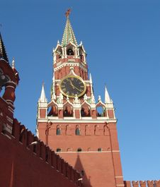 Free Saivoury(russian Name-Spasskaya) Tower Royalty Free Stock Photo - 14856905