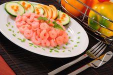 Free Prepared Shrimp. Stock Photo - 14856970