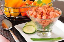 Free Prepared Shrimp. Royalty Free Stock Photos - 14856978