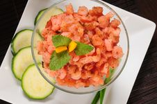 Free Prepared Shrimp. Stock Images - 14856994