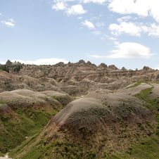 Free Badlands Of South Dakota, USA Stock Photos - 14857883