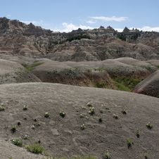 Free Badlands Of South Dakota, USA Stock Photos - 14857893