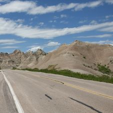 Free Badlands Of South Dakota, USA Royalty Free Stock Photos - 14857898