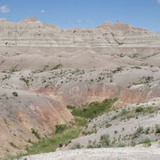 Free Badlands Of South Dakota, USA Stock Photos - 14857903