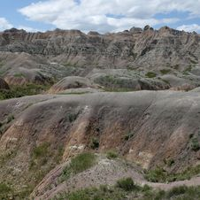 Free Badlands Of South Dakota, USA Stock Photos - 14857913