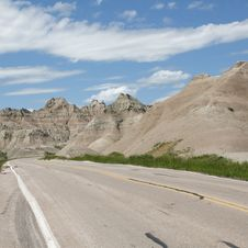 Free Badlands Of South Dakota, USA Stock Images - 14857924