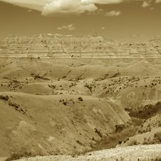 Free Badlands Of South Dakota, USA Royalty Free Stock Photography - 14857927