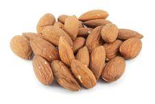 Free Almonds Royalty Free Stock Photo - 14857935
