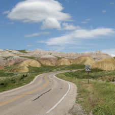 Free Badlands Of South Dakota, USA Royalty Free Stock Images - 14857939