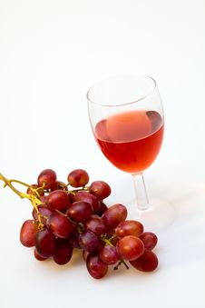 Free Wineglass With Grapes Stock Photos - 14857943