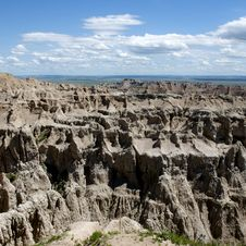 Free Badlands Of South Dakota, USA Stock Photo - 14858010