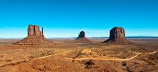 Free Classic Monument Valley View Stock Photo - 14858190