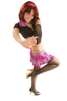Young Stylish Dancer Stock Image