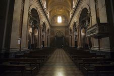Free Inside The Cathedral Of Macerata Royalty Free Stock Photos - 14858218