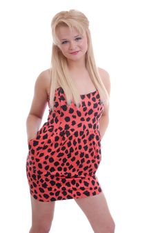 Free Pretty Blond Girl Posing Stock Photos - 14858273