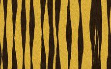 Free Seamless Tiger Skin Pattern Royalty Free Stock Images - 14858439