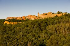 Village Of Roussillon Royalty Free Stock Photography