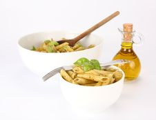 Free Penne With Pesto Stock Photos - 14858773