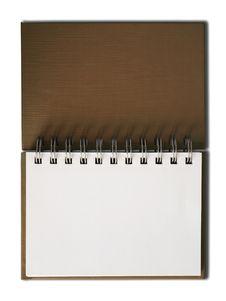 Free Brown Notebook Horizontal Royalty Free Stock Photo - 14858795
