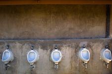 Free Men Toilet Royalty Free Stock Photography - 14858837