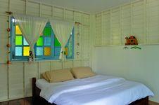 Free Bedroom In Resort Royalty Free Stock Image - 14859236