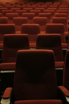 Free Theater Chairs Stock Photos - 14859253