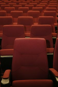 Free Chairs In A Theater Stock Photos - 14859263