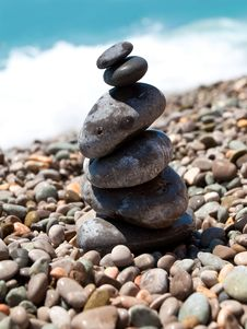 Free Pile Of Pebble Stones Stock Photos - 14859393