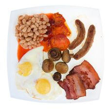 Free Traditional English Breakfast Stock Images - 14859454