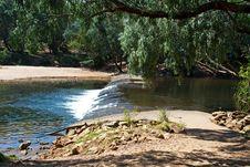 Knotts Crossing, Katherine River Stock Image