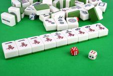 Free Mahjong Royalty Free Stock Image - 14859666