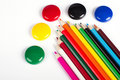Free Colored Pencils Royalty Free Stock Images - 14861209